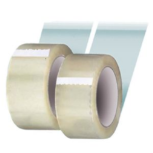 48mm x 66m Clear Vinyl PVC Tape